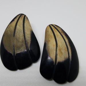 Jewelry - Boho Wood Earrings